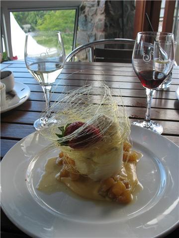 A succulent dessert served at restaurant Lurleens
