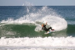 Local Coolum Beach surfer Shaun Clelland hits the waves to prepare for Sunshine Coast Pro
