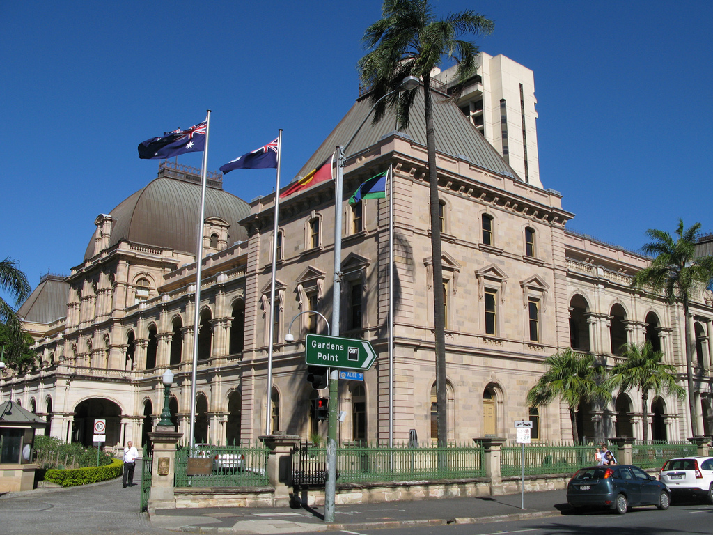 For now only half of Queensland's Parliament House is in use without a Legislative Council. Photo Courtesy of AnnieGreenSprings Flickr photostream
