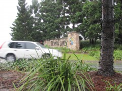 Cars entering North Lakes Qld
