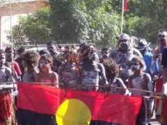 Indigenous groups rally for rights
