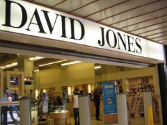 David Jones has been selling Christmas-related goods since September. Source: ourbrisbane.com