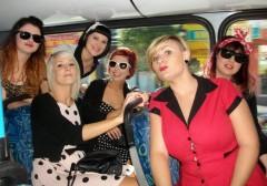 Rockabilly fans head to the Wintersun Festival. Photo: Eli Ferguson