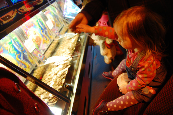 Children exposed to gambling at a young age have a higher risk of being problem gamblers late in life. Photo courtesy of Jayne Andd