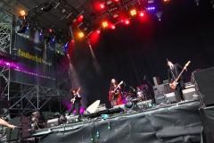Last year's winners HANATOCHIRURAN playing Taubertal Festival. Photo: Jason Lackie.